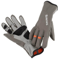 Перчатки SIMMS Ex Stream Flex Glove цвет Dark Gunmetal