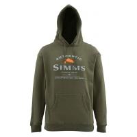 Толстовка SIMMS Badge of Authenticity Hoody цвет Olive