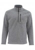 Пуловер SIMMS Rivershed Sweater Quarter Zip цвет smoke