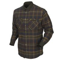 Рубашка HARKILA Pajala Shirt цвет Mellow Brown Check