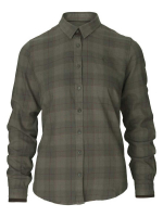 Рубашка женская SEELAND Range Lady Shirt цвет Pine green check
