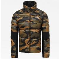 Куртка THE NORTH FACE Men's Crimptastic Hybrid Down Jacket цвет Burnt Olive Green Waxed Camo