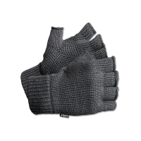 Перчатки RAPALA Varanger Half Finger вязанные цвет серый