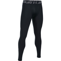 Тайтсы UNDER ARMOUR HeatGear Armour 2.0 Leggings цвет Black / Graphite