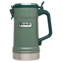 Кружка пивная STANLEY Classic Vacuum Insulated Stein (тепло 5 ч/ холод 5 ч) 0,71 л цв. Зеленый
