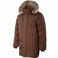 Куртка пуховая SIVERA Сайгат цвет чёрный кофе