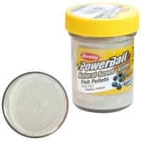 Паста BERKLEY PowerBait Natural Scent Glitter TroutBait аттр. Пелец цв. Белый