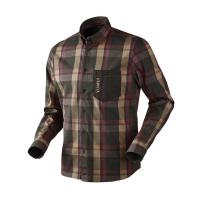 Рубашка HARKILA Amlet LS Shirt цвет Burgundy / Brown Check