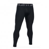 Тайтсы UNDER ARMOUR HeatGear Armour 2.0 Printed Leggings цвет Black / Halo Gray