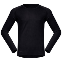 Кофта BERGANS Snoull мужская цвет Black / Solid Charcoal