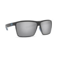 Очки COSTA DEL MAR Rincon 580 GLS р. XL цв. Matte Smoke Crystal цв. ст. Gray Silver Mirror