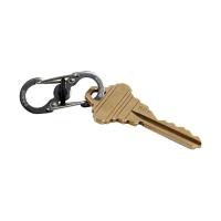 Брелок для ключей NITE IZE SlideLock KeyRack с метал. карабинами