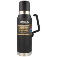 Термос STANLEY Master (тепло 40 ч/ холод 35 ч) 1,3 л с гравировкой цв. черный