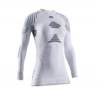 Термофутболка X-BIONIC Invent 4.0 Shirt Round Neck Lg Sl Wmn цвет Белый