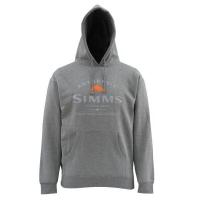 Толстовка SIMMS Badge of Authenticity Hoody цвет Gunmetal Heather