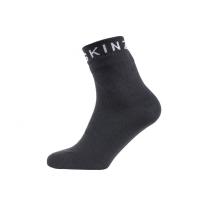 Носки SEALSKINZ Super Thin Ankle Sock цвет Black / Grey