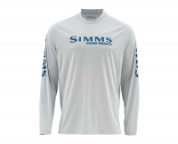 Термофутболка SIMMS SolarFlex LS Crew - Graphic Print цвет Fast Bass Sterling