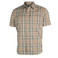 Рубашка SITKA Globetrotter Shirt SS цвет Twill Plaid