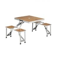 Обеденная группа OUTWELL Dawson Picnic Table складная (стол + 4 интегрированных табуретки) нагр. 50 кг