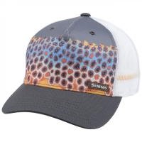 Кепка SIMMS Artist Series 5 Panel Trucker Deyong цв. Trout Charcoal