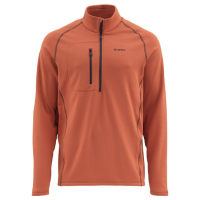 Пуловер SIMMS Fleece Midlayer Top цвет Orange