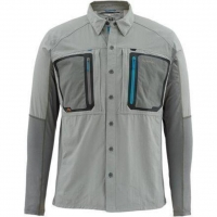 Рубашка SIMMS Taimen Tricomp Shirt цвет smoke