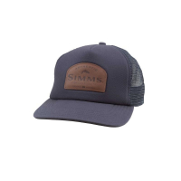 Кепка SIMMS Leather Patch Trucker цв. Admiral Blue