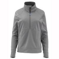 Пуловер SIMMS Women's Madison Fleece Popover цвет Lead