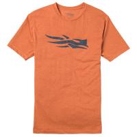 Футболка SITKA Logo Tee SS цвет Burnt Orange