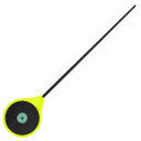 Удилище зимнее LUCKY JOHN Salmo Handy Ice Rod 24,3 см жёлтая