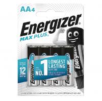Батарейка ENERGIZER MAX Plus Alk AA LR6 (4 шт.)