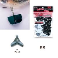 Защита для крючка MEIHO Versus VS-52 Ranker pack M (65 шт.) цв. черный