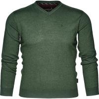 Пуловер SEELAND Compton pullover цвет Pine green