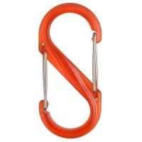 Карабин пластиковый NITE IZE S-Biner 4 цв. прозрачный оранжевый
