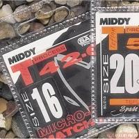 Крючок одинарный MIDDY T52-0 с тефлоновым покрытием (10 шт.) № 14