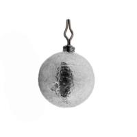 Груз с вертлюгом ТУЛА Шарик для отводного, дропшота с застежкой (5 шт.) 25 гр