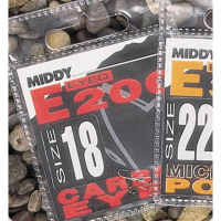 Крючок одинарный MIDDY E200 Mic Barb Eyed (10 шт.) № 16