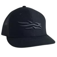 Бейсболка SITKA Flatbill Cap цвет Black