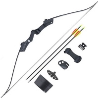 "Лук классический MAN KUNG Man Kung - 20# 46"" (Recurve Bow Set (Black))"