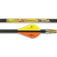 Стрела CARBON EXPRESS CX - карбоновая, Mayhem 250 BLAZER VANES