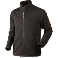 Толстовка HARKILA Norja HSP full zip цвет Shadow brown melange
