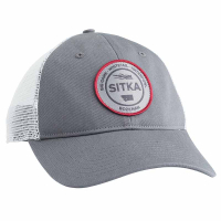Бейсболка SITKA Ws Seal Meshback Trucker Cap цвет Woodsmoke