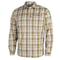 Рубашка SITKA Globetrotter Shirt LS цвет Sand Plaid