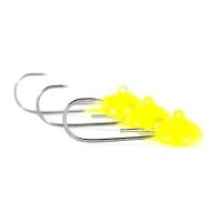 Джиг-Головка ТУЛА форелевая для нимфы цвет: жёлтый (3 шт.) 1,6 гр
