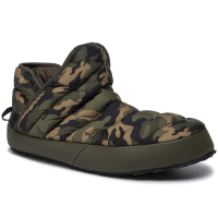 Мюли THE NORTH FACE Men'S Thermoball Traction Bootie Mules цвет Taupe Green/Burnt Olive Green Woods Camo
