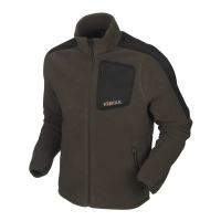Толстовка HARKILA Venjan Fleece Jacket цвет Shadow Brown/Willow green