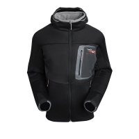 Толстовка SITKA Traverse C Weather Hoody цвет Black