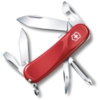 Нож VICTORINOX Evolution S14 р. 85 мм, 14 функций, цв. красный