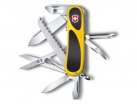 Нож VICTORINOX EvoGrip 18 желтый/черный 15 функций 85 мм карт.коробка