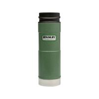 Термокружка STANLEY Classic One Hand Vacuum Mug (тепло 7 ч/ холод 7 ч) 0,47 л цв. Зеленый